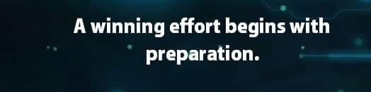 winning effort, preparation, quote, become a winner in life