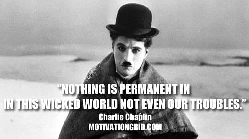 Charlie Chaplin Quote Inspirational Celebrity Quotes