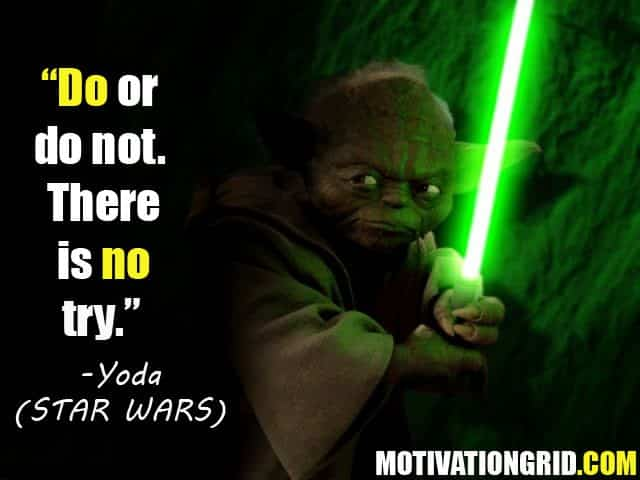 Yoda, Star wars, Quote, Inspirational movie quotes