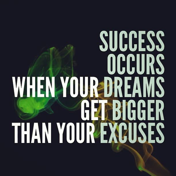 success occurs when your dreams get bigger than your excuses, motivational quotes, motivational image quotes, motivational picture quote, motivational image, motivation picture quote, motivation image, inspirational images,