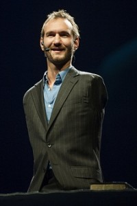 Nick Vujicic, motivational speaker, inspirational speaker, no legs, no arms