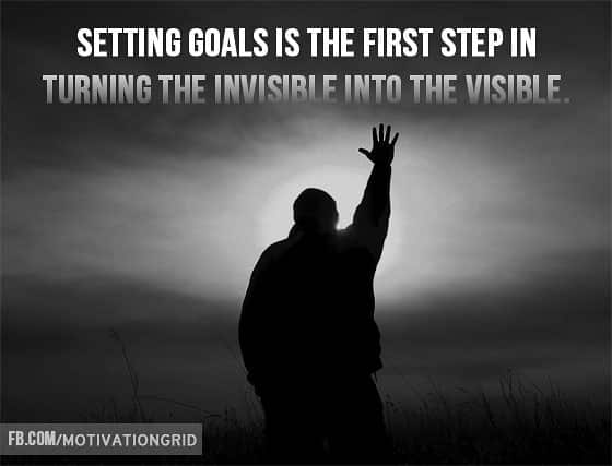 Tony Robbins Quotes, setting goals