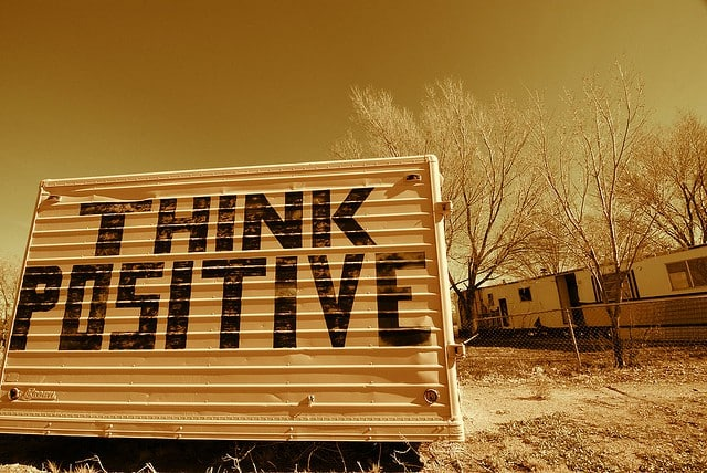 think positive, the power of positive thinking
