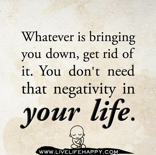 turn negativity into positivity