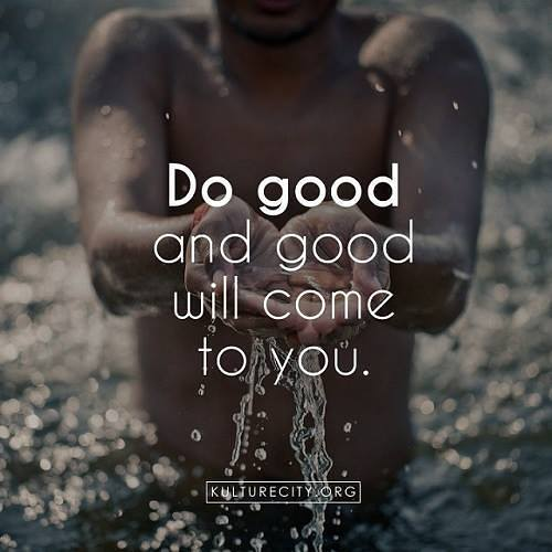 do good, motivational images.
