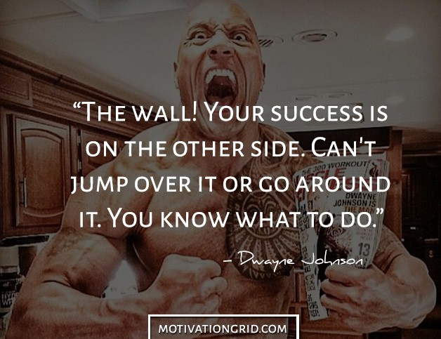 Success in life picture quote by The Rock
