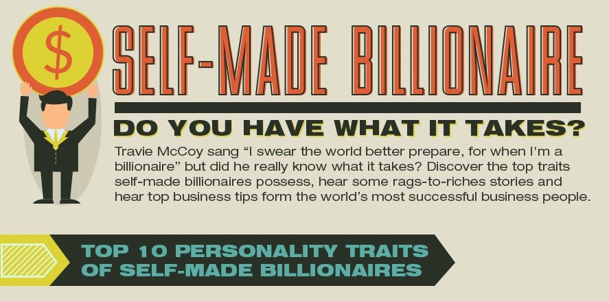 self made billionaires