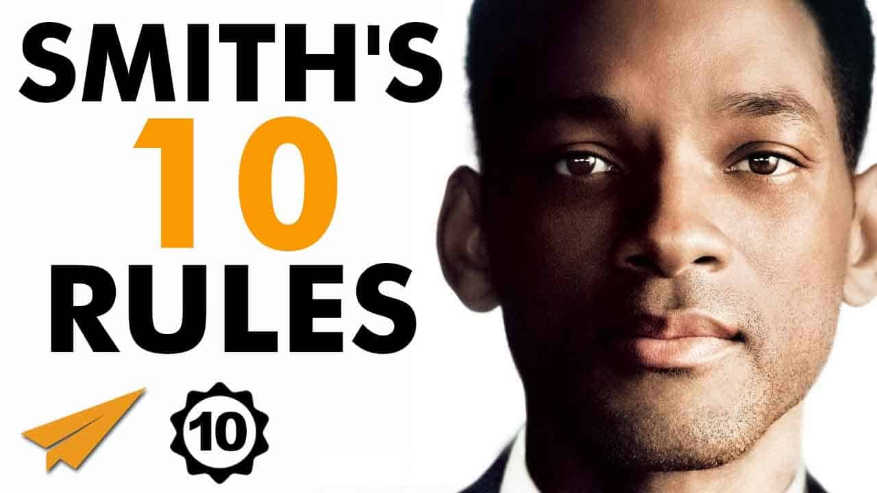 Will Smith Rules for success