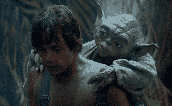 quotes from Star wars, luke skywalker carrying yoda, motivational