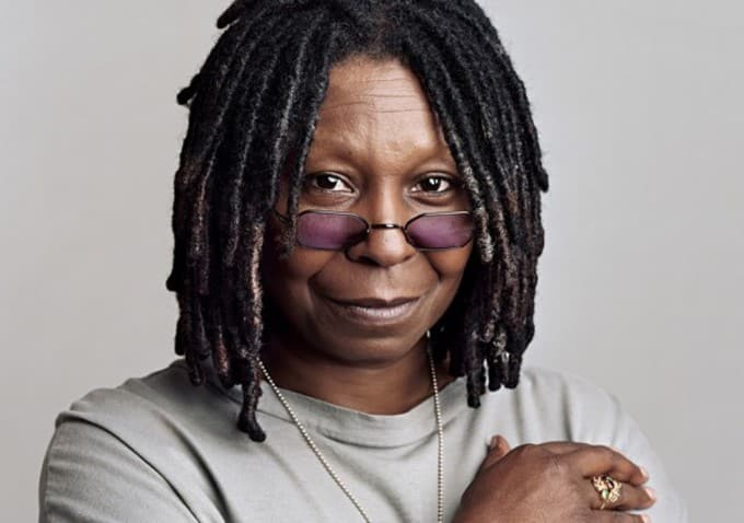 Whoopi Goldberg and her first job before becoming successful, highly successful people first job