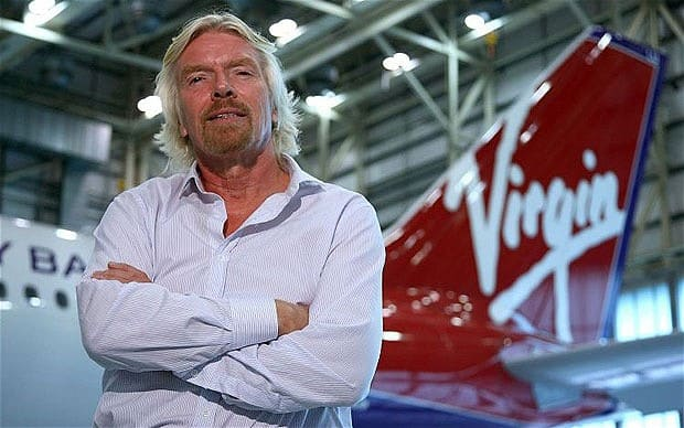 Richard Branson and his not not so prestigious first job, first jobs of highly successful people