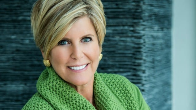 Suze Orman and her first not so prestigious job
