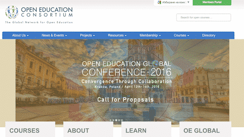 open education consortium, free online education