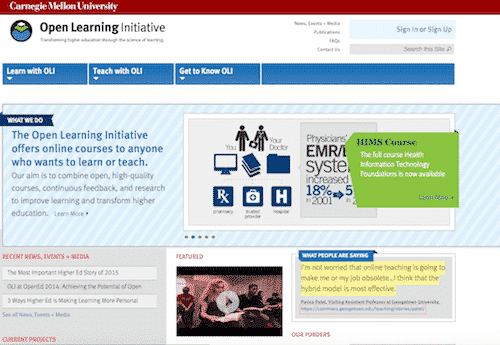 Open Learning Institute, free online education