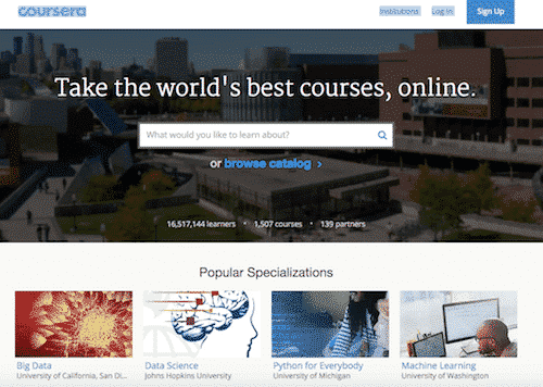 coursera, free online education
