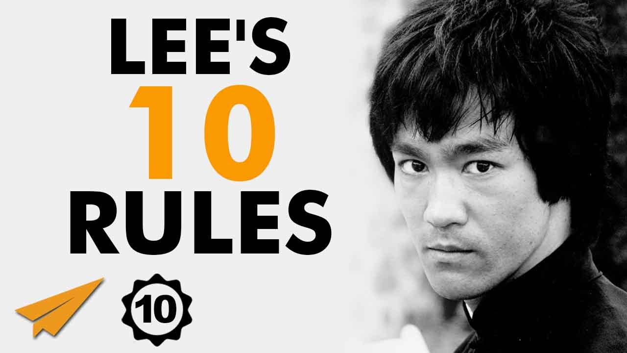bruce lee's top 10 rules for success