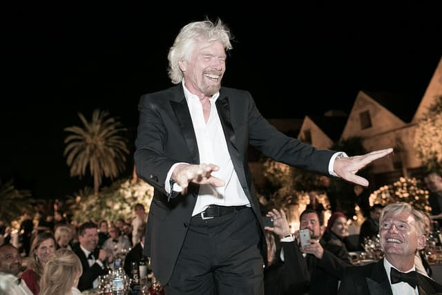 entrepreneurial leadership, richard branson