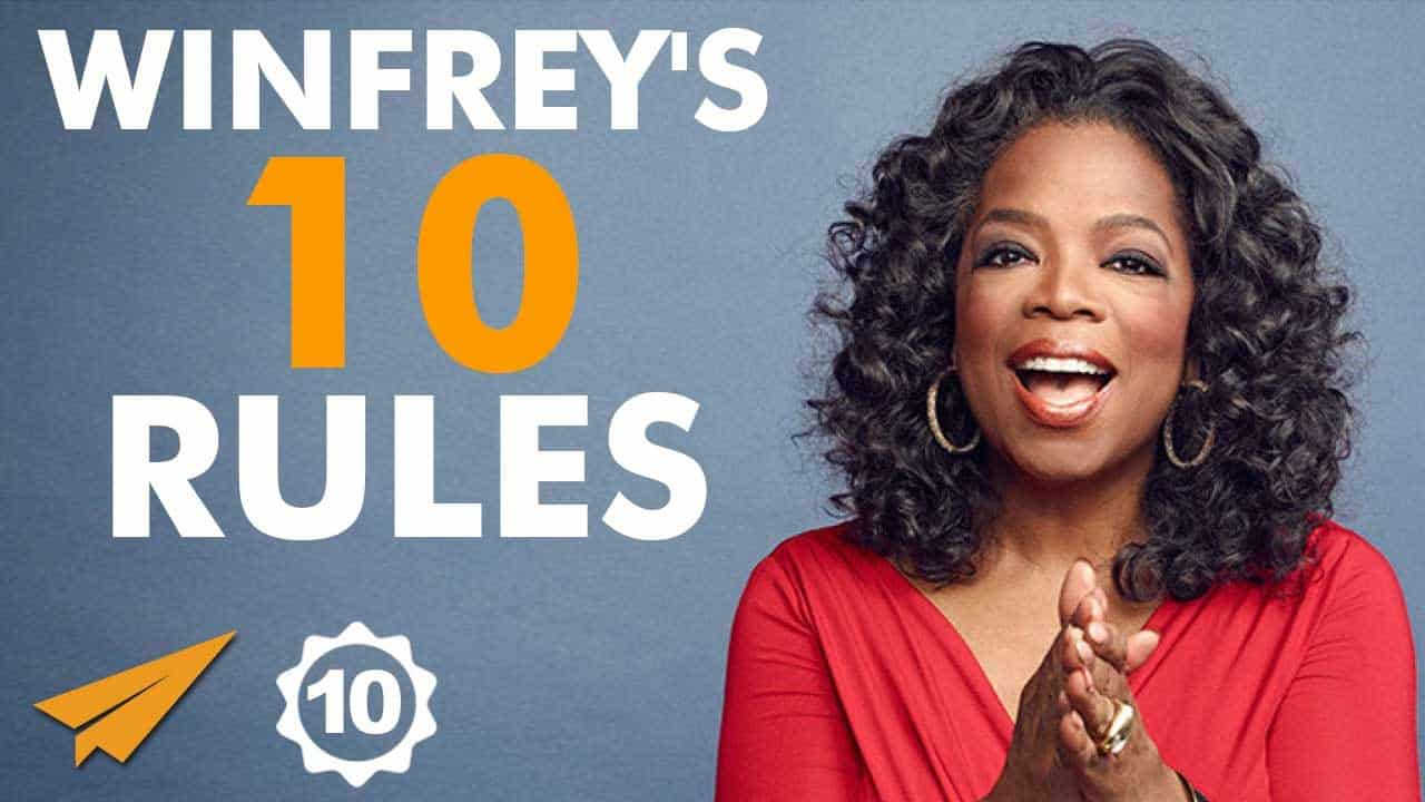 oprah winfrey's top 10 rules for success, oprah winfery, queen of all media