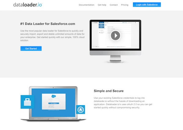 Data loader, Cloud Based Document Management Apps