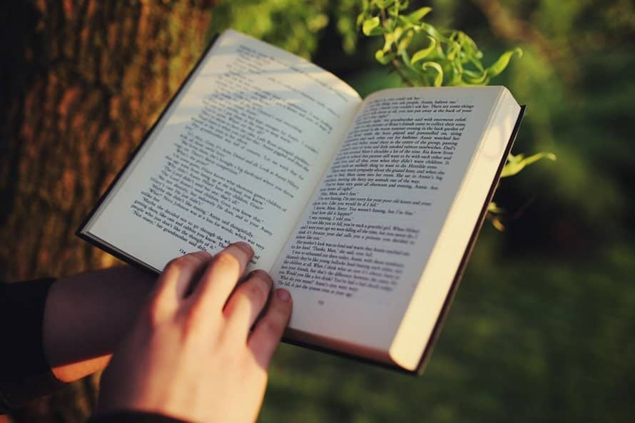 hand book reading, how to get into reading