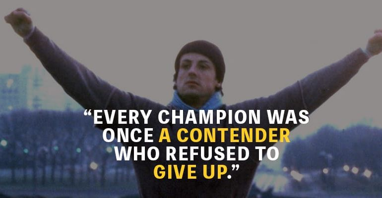 Top 20 Rocky Quotes To Get You Through Hard Times Motivationgrid