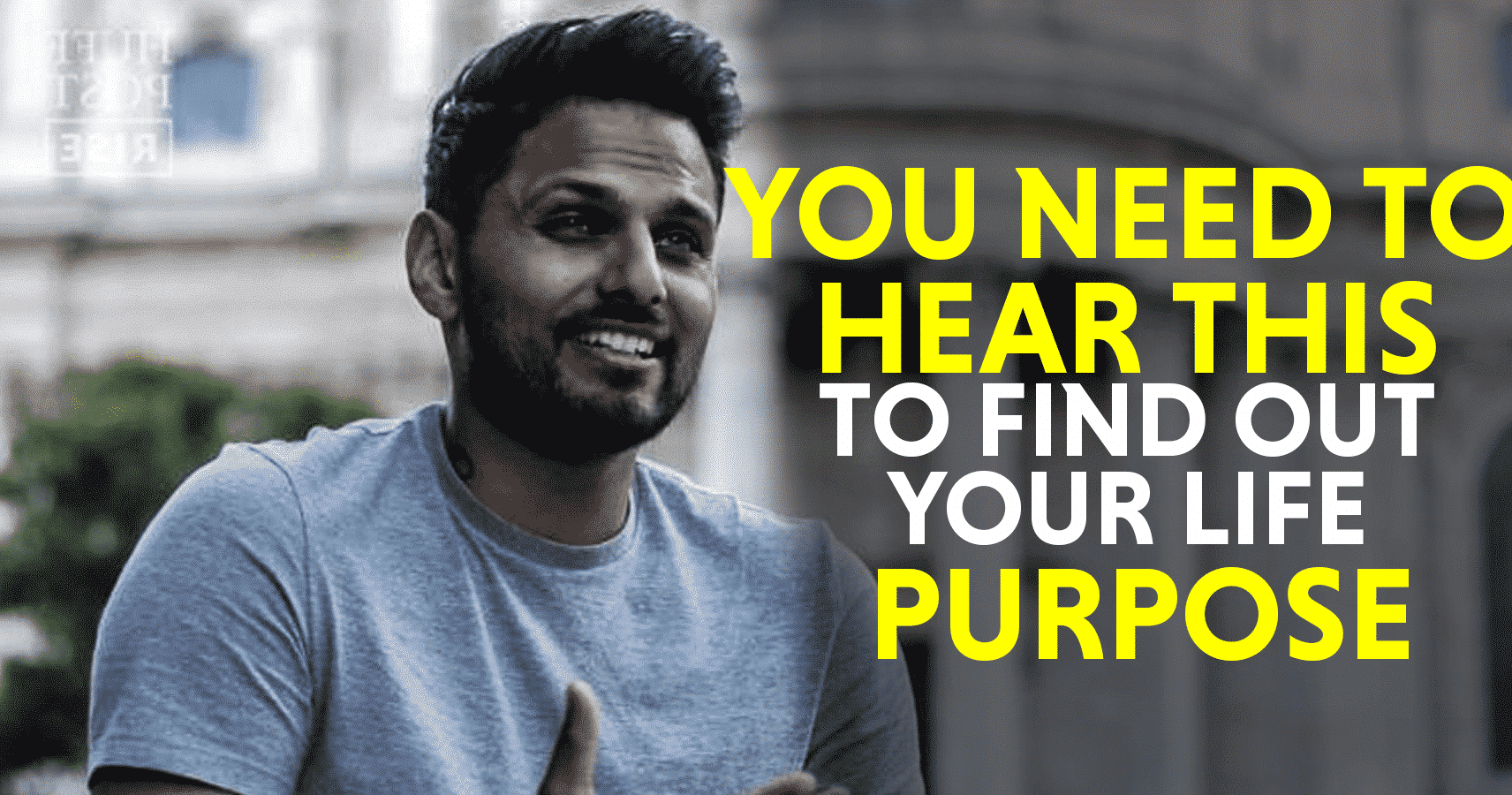 Advice From Jay Shetty That Will Help You Find Your Purpose In Life