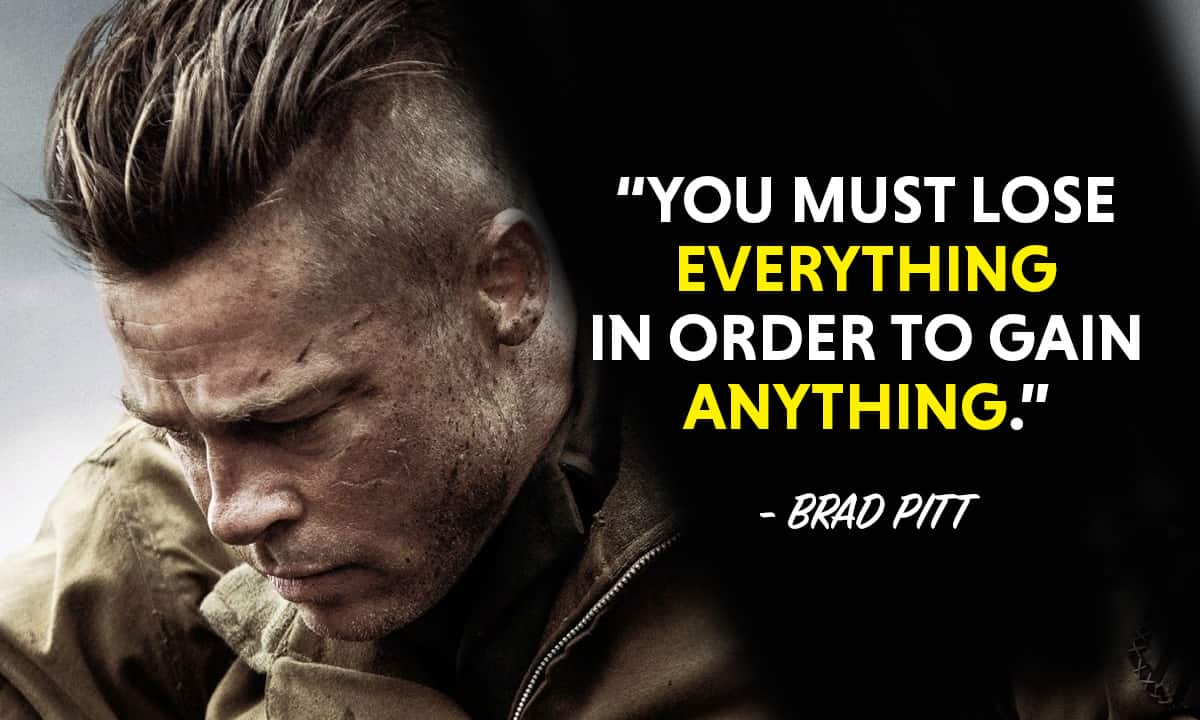 Top 17 Most Inspiring Brad Pitt Quotes Motivationgrid