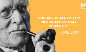 Carl Jung Quotes, quotes by Carl Jung, quote by Carl Jung, you are what you do quote