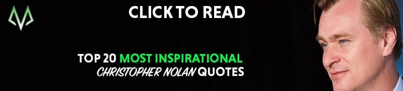 Christopher Nolan quotes
