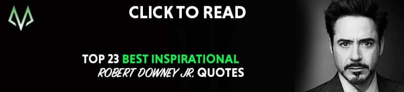 Robert Downey Jr quotes and Marilyn Monroe Quotes