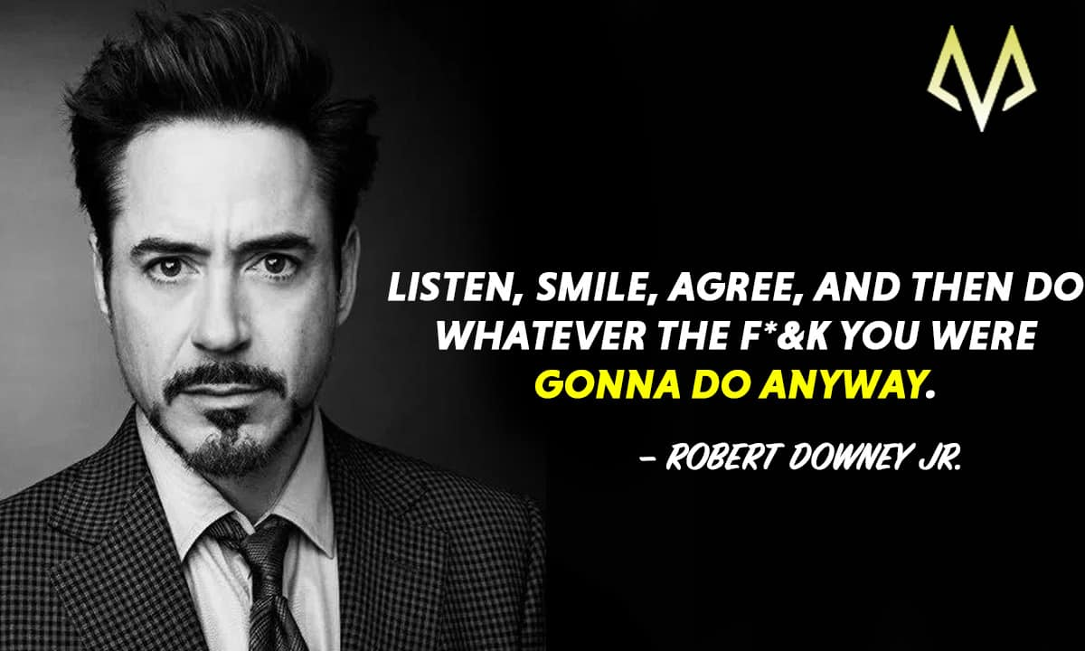 Top 23 Best Robert Downey Jr. Quotes